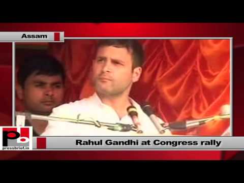 Rahul Gandhi campaigns at Sonitpur in Assam, slams Gujarat model, part 02