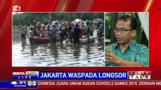 Lunch Talk: Jakarta Waspada Longsor #1