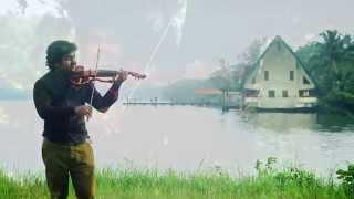 'Sreeragamo Thedunnu' Abhijith P S Nair ft. Sandeep Mohan (A Violin cover)