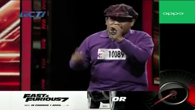 WAWAN SETIAWAN - LAGU ORANG STRESS (Original Song) - X Factor Indonesia 2015 - Episode 03 - AUDITION 3