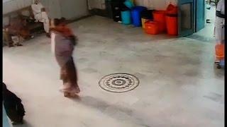 अस्पताल से महिला ने चुराई नवजात बच्ची, सीसीटीवी में कैद वारदात