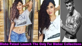 Disha Patani Launch The Only For Bieber Collections For Fans
