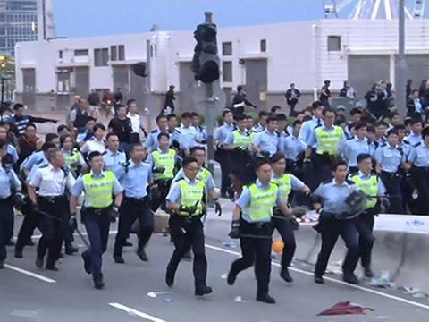 Raw- 40 Arrested in Hong Kong Protests News Video