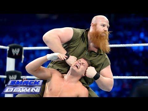 Cody Rhodes & Goldust vs. Harper & Rowan - WWE Tag Team Title Match- SmackDown, Jan. 3, 2014 - WWE Wrestling Video