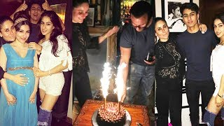 (Inside Video) Saif Ali Khan's Birthday Party - Kareena, Sara Ali Khan, Soha