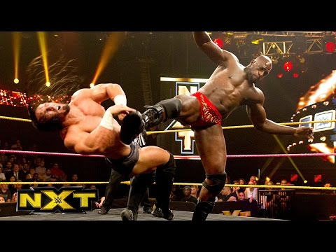 Adrian Neville vs. Titus O'Neil - NXT Championship Match- WWE NXT, Oct. 23, 2014 - WWE Wrestling Video