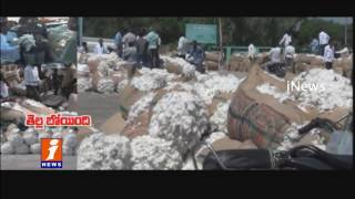 Cotton Farmers Struggling Due to Low Cost at Jammikunta Agricultural Market | iNews