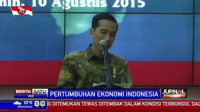 Jokowi Yakin Pertumbuhan Ekonomi Naik Tajam