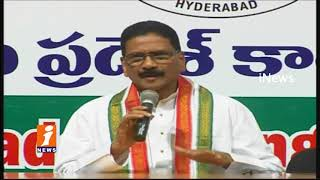Congress Leader Sasidhar Reddy Comments On TRS Govt Over Kaleshwaram Project Issues | iNews