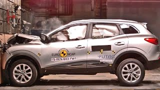 2015 Renault Kadjar Crash Tests