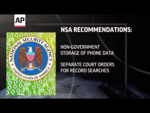 Obama Set to Announce NSA Changes News Video
