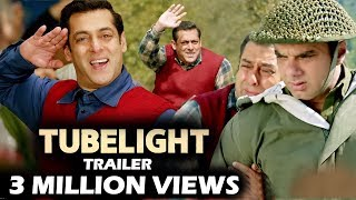 Salman's TUBELIGHT Trailer CROSSES 3 MILLION Views - Fastest Viewed Trailer
