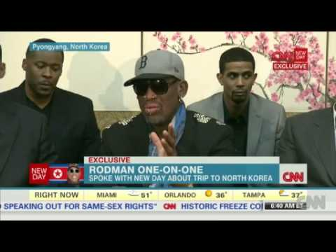 Rodman To CNN I Don't Give a S****  ............. News Video