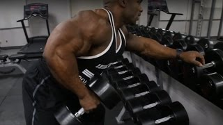 How to- ONE ARM DUMBELL ROW with Fred BIGGIE Smalls (Pro Series)