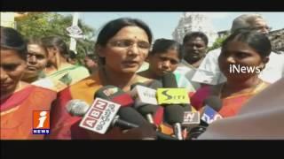TDP Activists Doing To purify Jagan Visiting places | Guntur | iNews