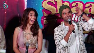 Shaadi Me Jarur Aana  | Full Press Conference | Rajkumar Rao | Kriti Kharbanda