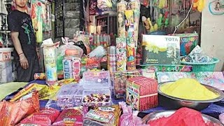 Markets selling Chinese Holi products inspite of 'Make in India' initiative