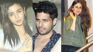 Kareena Kapoor, Alia Bhatt, Sidharth Malhotra At Diwan Builders GRAND PARTY