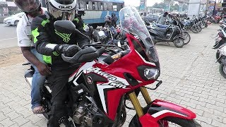 Honda Africa Twin, Test Ride Review, India. MotoVLog.