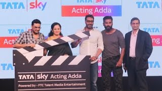 UNCUT - Ajay Devgn & Suneil Shetty LAUNCHES Tata Sky's Acting Adda