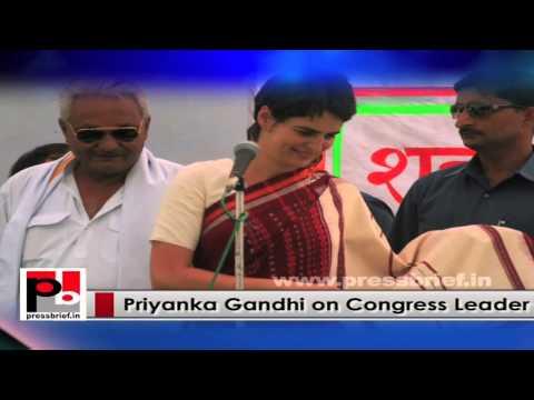 Young and progressive Priyanka Gandhi –energetic campaigner, genuine mass leader