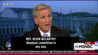 Rachel Maddow - Would-be-speaker, Kevin McCarthy, apparently challenged by speaking