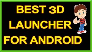 Best 3D Launcher For Android | TSF launcher | Telugu