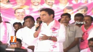 Minister KTR Visits Algaanur | Launches Several Development Programs | Timmapur | iNews