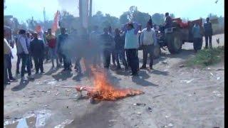 मोदी के खिलाफ था प्रदर्शन, दोफाड़ हो गई कांग्रेस !