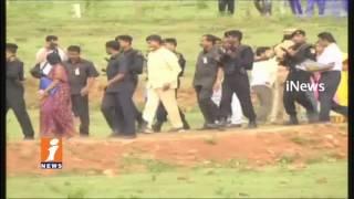 AP CM Chandrababu Lay Foundation Stone For Development Works In Sattenapalli Constituency | iNews