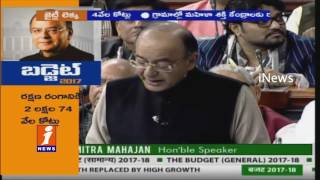 Arun Jaitley On Demonetization   Union Budget 2017   Parliament   iNews