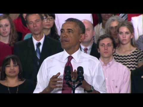 Obama Announces Manufacturing Institute in NC News Video
