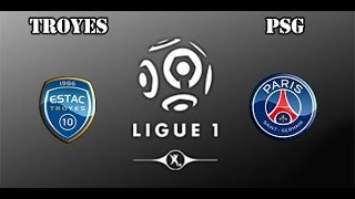 Troyes 0:9 PSG Goals and Highlights | France Ligue 1
