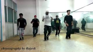 Crusher Rajesh leading his Hip Hop Crew