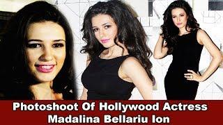 Actress Madalina Bellariu Ion H0t Photoshoot For Film Dobaara