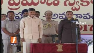 Bhuma Akhila Priya Takes oath as AP Cabinet Minister In Velagapudi | Amaravati | iNews