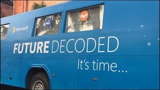 Watch- Microsoft trying 'future decoded on wheels' for Small, medium business