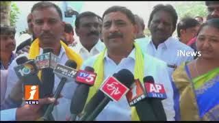 Minister kalva Srinivas Participates Intintiki TDP Program In Rayadurgam | Anantapur | iNews