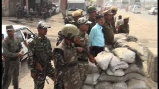 सोनीपत में सेना की तैनाती, ट्रैक्टर-ट्रॉलियों पर पाबंदी