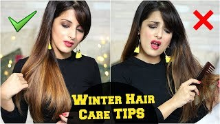 7 WINTER Hair Care Hacks Every Girl Should Know For Healthy, Shiny Hair/ Hair Care Tips & Routine