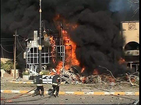 Raw- 3 Deadly Blasts Rock City in Northern Iraq News Video