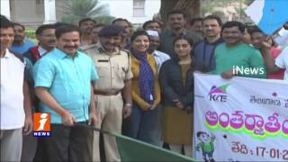 Awareness Rally In Warangal in Ahead Of International Kite Festival | iNews