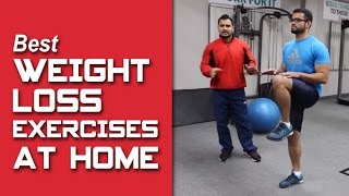 Best WEIGHT LOSS exercises to do at home!! part-2 (Hindi / Punjabi)