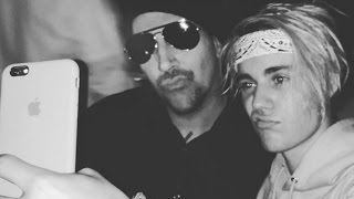 Justin Bieber Bonds With Marilyn Manson