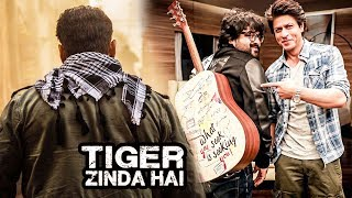 Ali Abbas Reveals Salman's Tiger Zinda Hai Entry Scene, Shahrukh Khan GIFTS Pritam JHMS Guitar