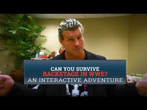 Can you survive backstage in WWE?- An interactive WWE adventure - WWE Wrestling Video