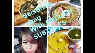 SARSON ka SAAG recipe   How to make SARSON ka SAAG   EASY RECIPE   JSuper Kaur