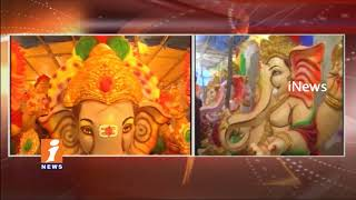 Ganesh Idols Getting Ready For Vinayaka Chavithi Festival In Warangal | iNews