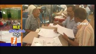 All Arrangements Done For Graduate MLC Polls In Rayalaseema | iNews