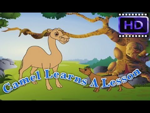 Camel Learns A Lesson - Oont - Hindi Animated Story - Moral Stories For Kids